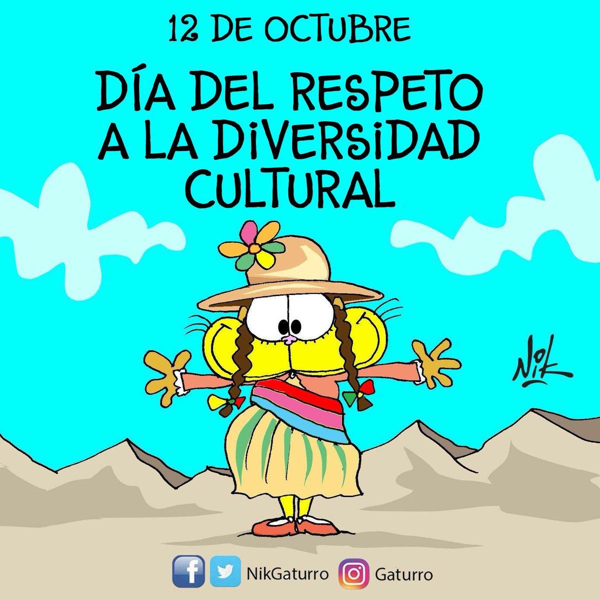 #12deOctubre #DiversidadCultural https://t.co/0dVOGoxvAg