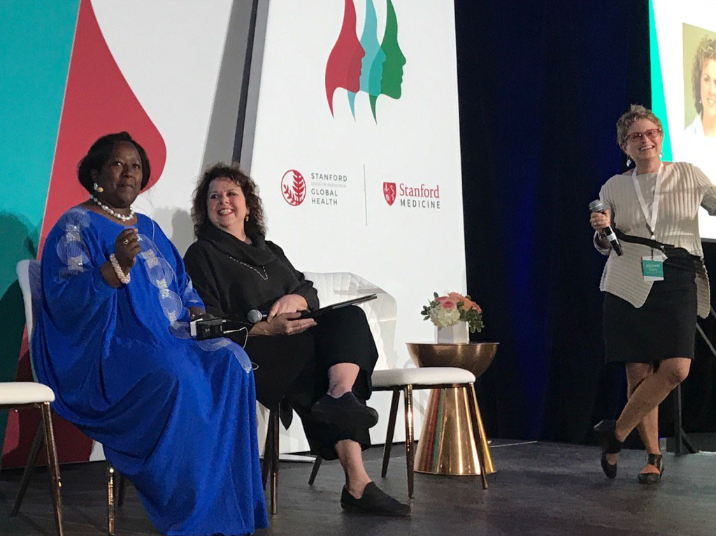 Agnes Binagwaho former Rwandan MoH talks about societal changes needed to achieve gender equity in leadership.#WLGH17 <br>http://pic.twitter.com/3OMy9dPQOD