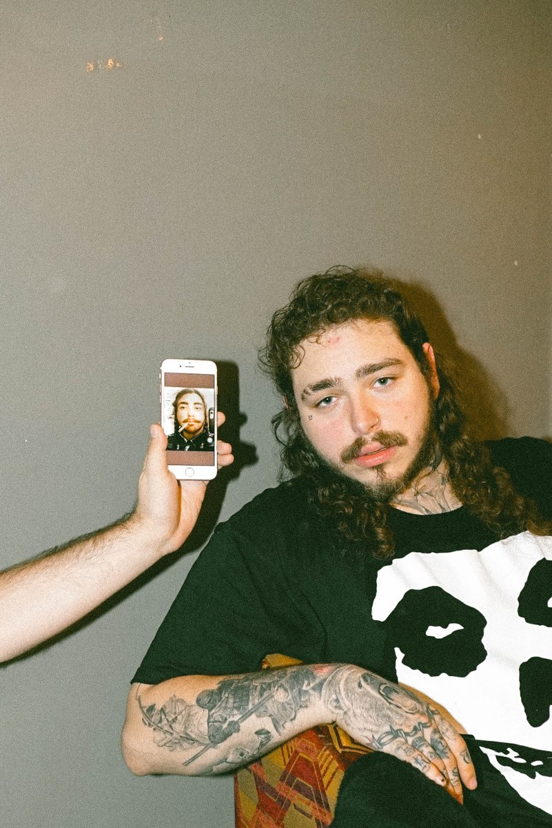 Post Malone : Post Malone rolls rockstar merch | XXL