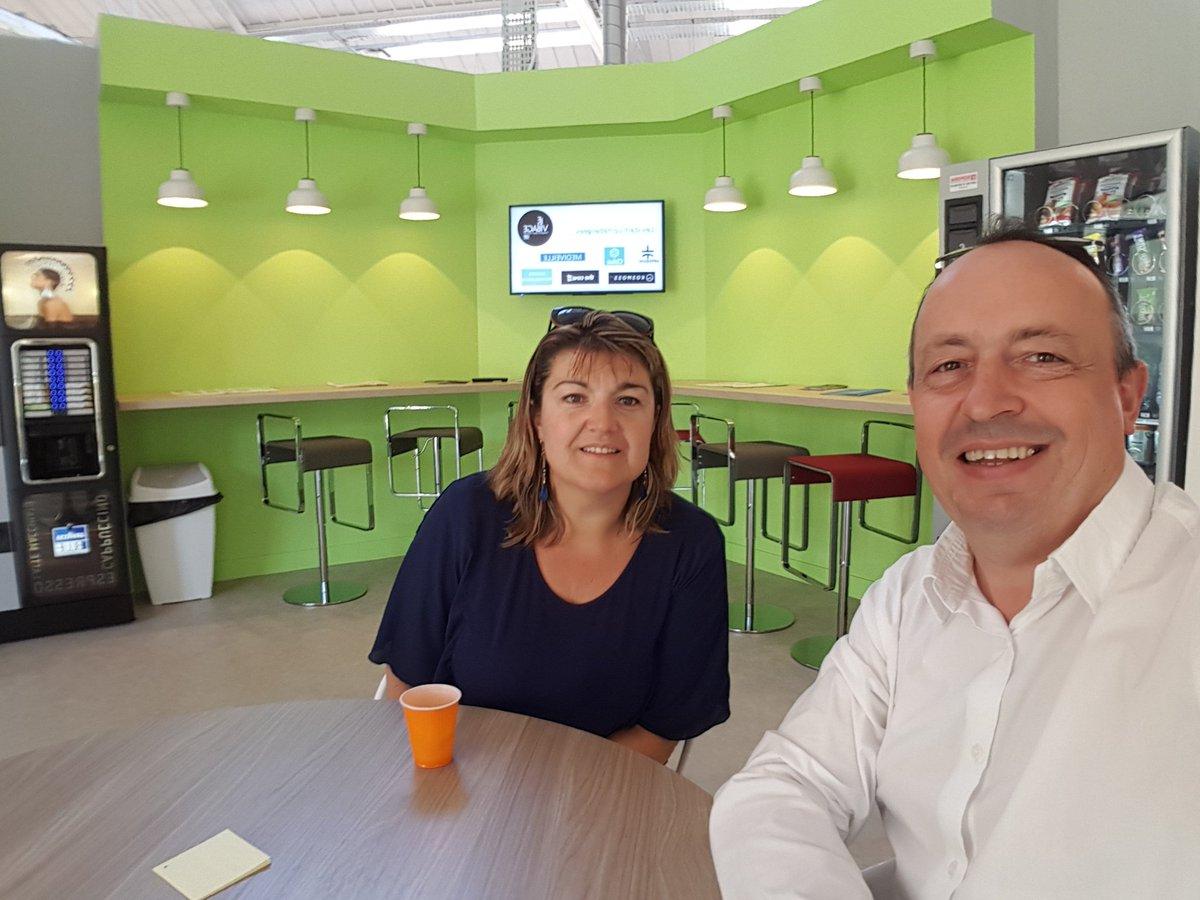 #Meetmyvillage #startup  rencontres à Saint Etienne : quand le Maire du Village by CA rencontre Corinne Maire de co-effisens.frpic.twitter.com/UvB4PNcWRd