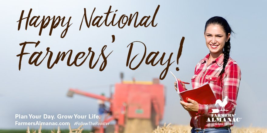 If you ate today, #thankafarmer! #NationalFarmersDay https://t.co/JVDO...