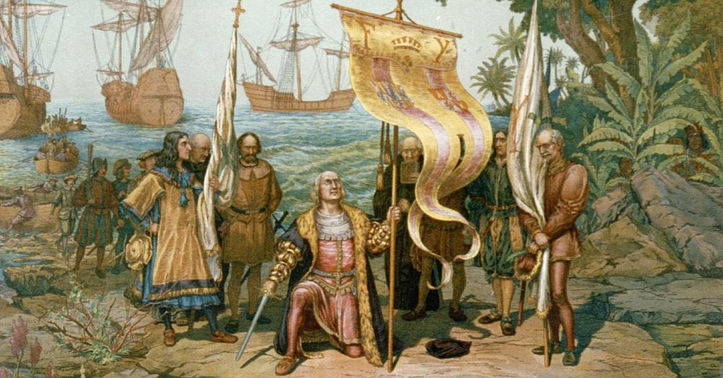 1492 riot in the bahamas On october 12, the expedition sighted land, probably watling island in the bahamas, and went ashore the same day, claiming it for spain 1492 columbus sets sail.