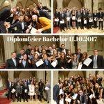 Die ersten 118 Bachelor-Diplome sind verteilt! Herzliche Gratulation!