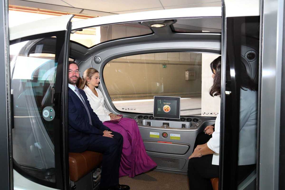 test Twitter Media - Princess Stephanie of Luxembourg enjoyed a tour of #masdarcity and its PRT vehicle last Tuesday. https://t.co/HN9FUFRyjb