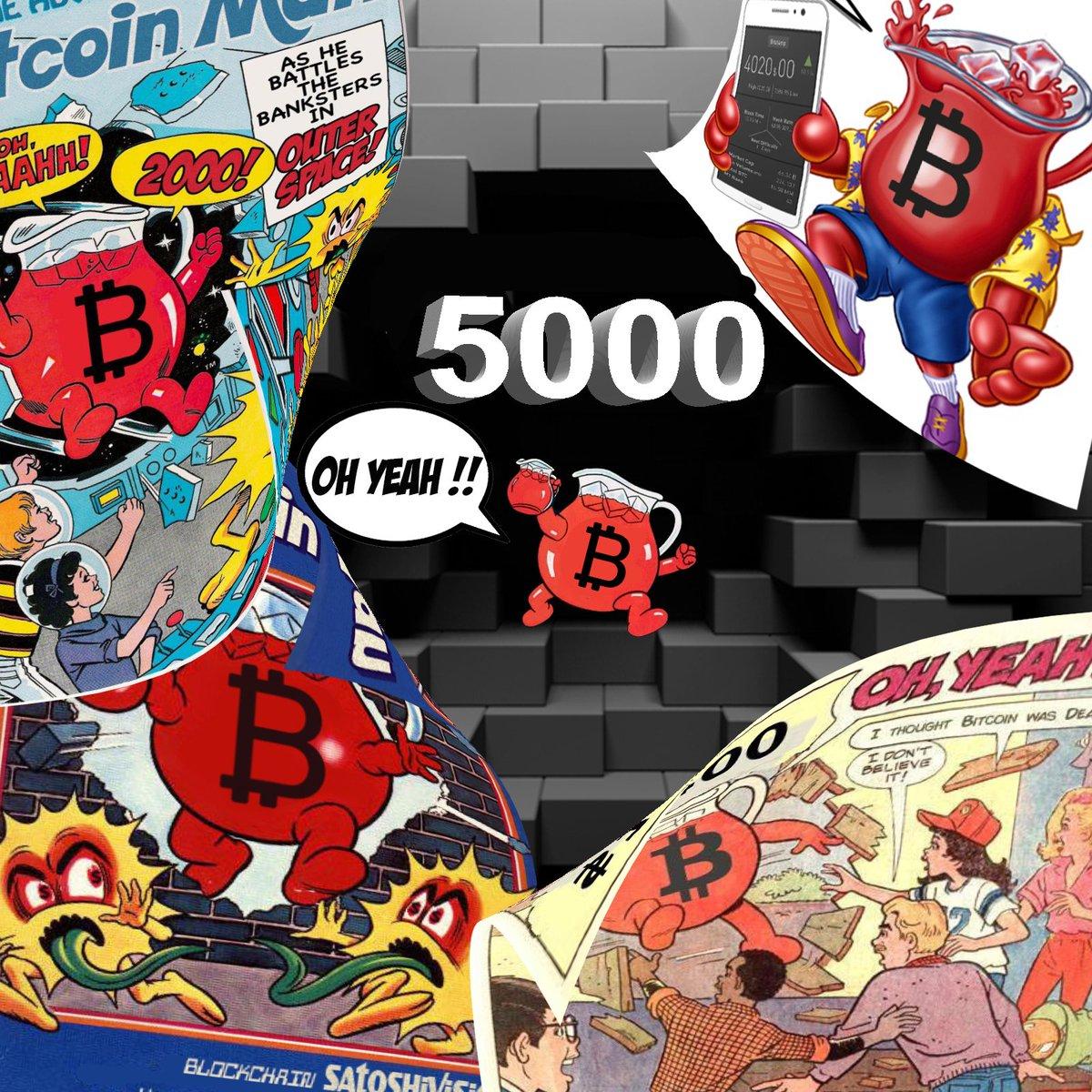 RE: Bitcoin Breaks $5000  Again!