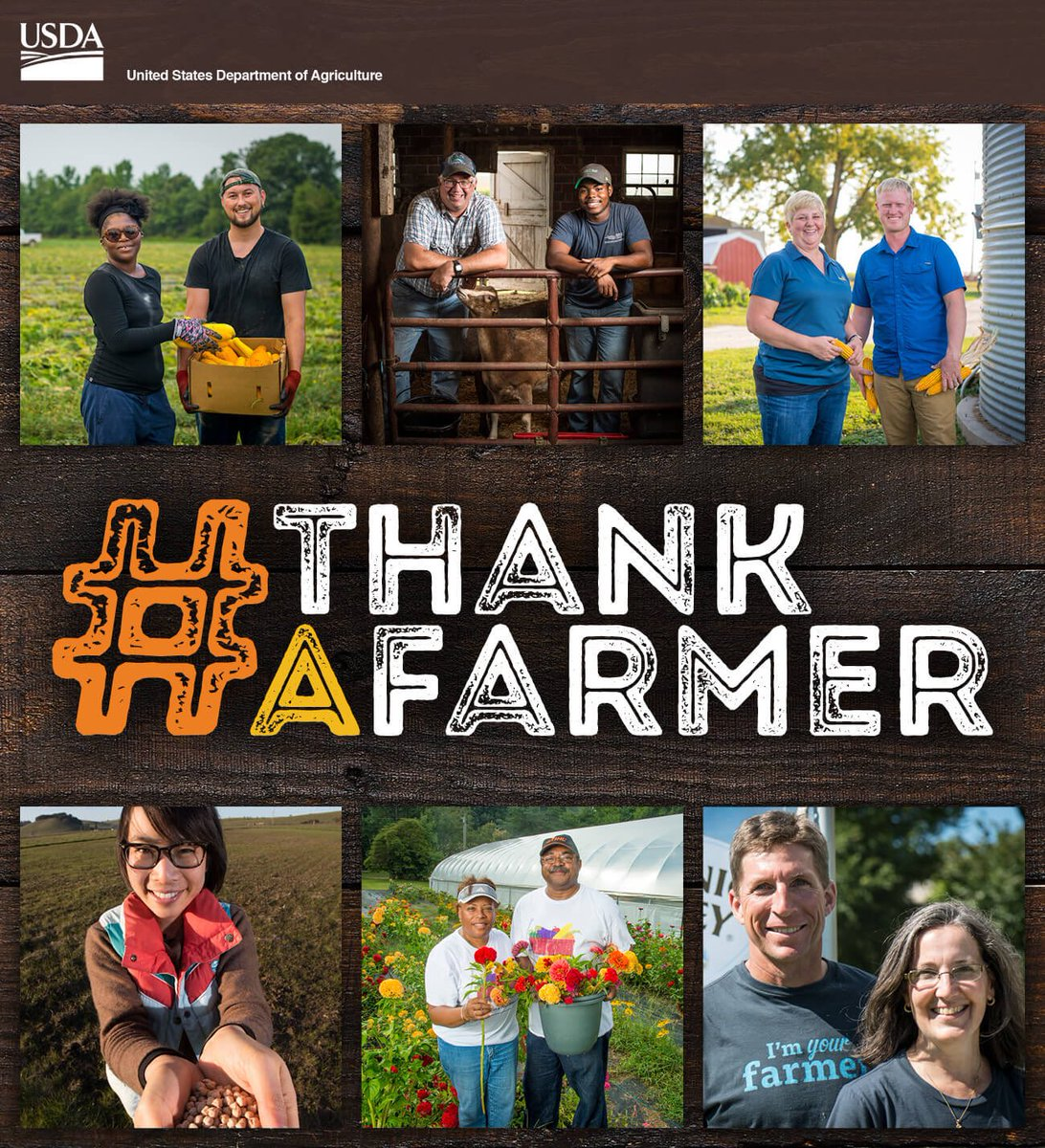 Today is National Farmer's Day! #ThankAF...