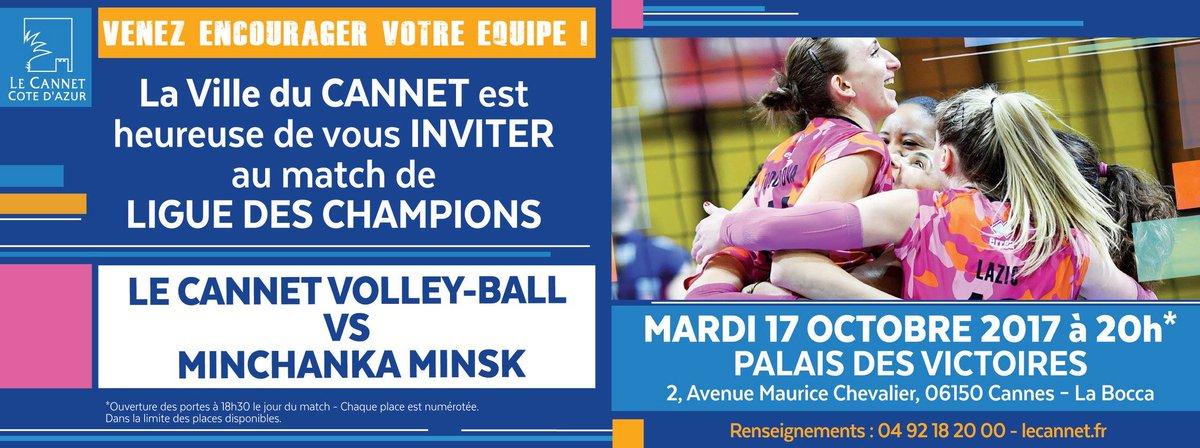 VOLLEY-BALL  https://www. facebook.com/lecannet/posts /1610889115628160 &nbsp; …  #LeCannet #Volley #LDC @ESCRVOLLEY<br>http://pic.twitter.com/6B8gjdj9O2