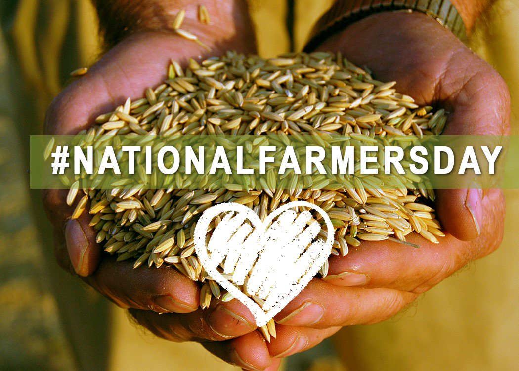 Happy #NationalFarmersDay to everyone who produces food, fuel and fibe...