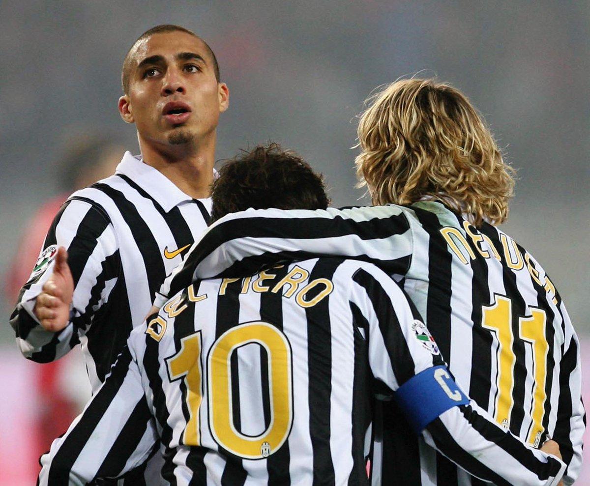 Trezeguet + Del Piero + Nedved = ⚽️😍🔥  #UCL #ThrowbackThursday