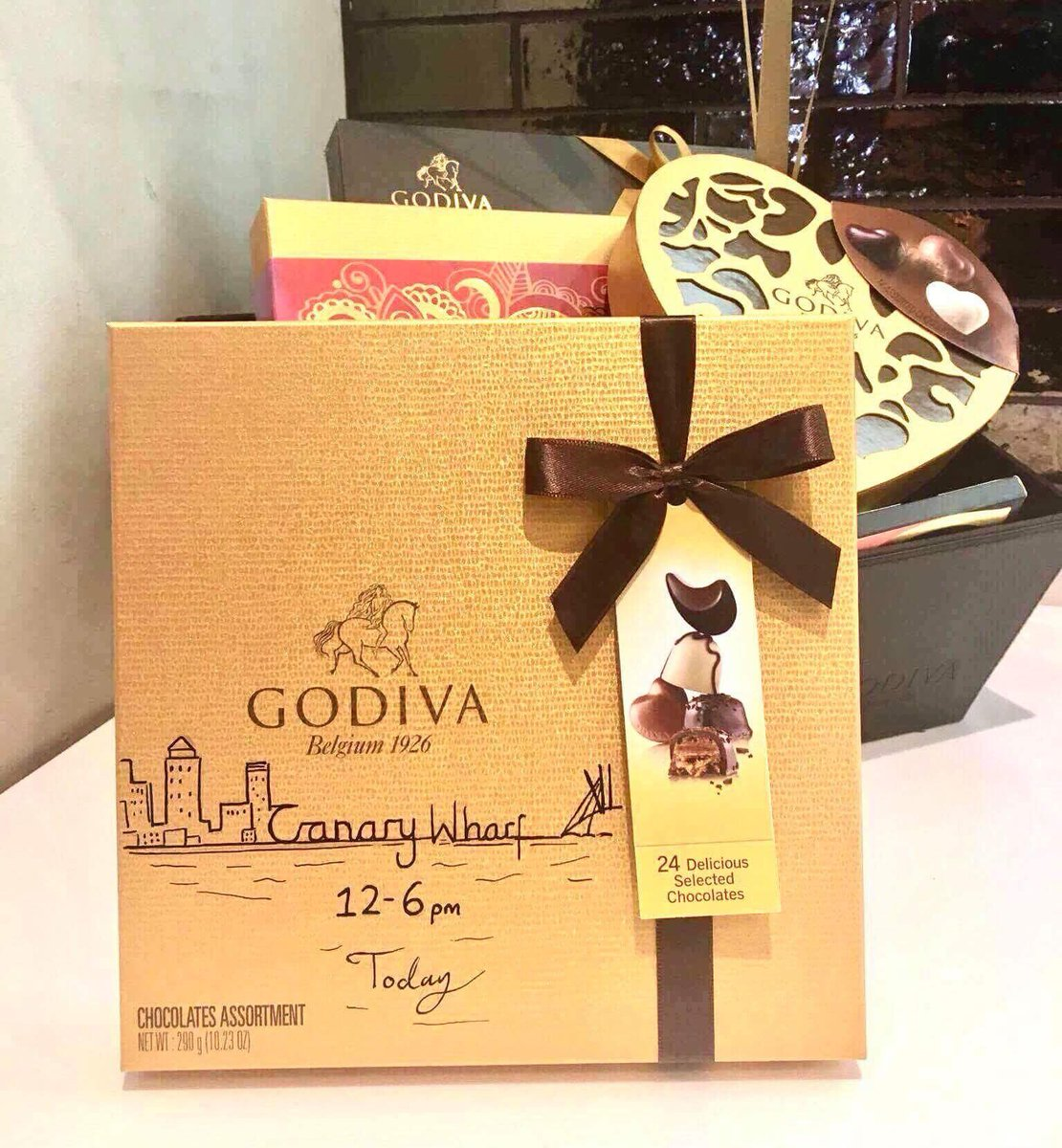 Godiva Chocolates Uk On Twitter Visit Our Canary Wharf Store Today
