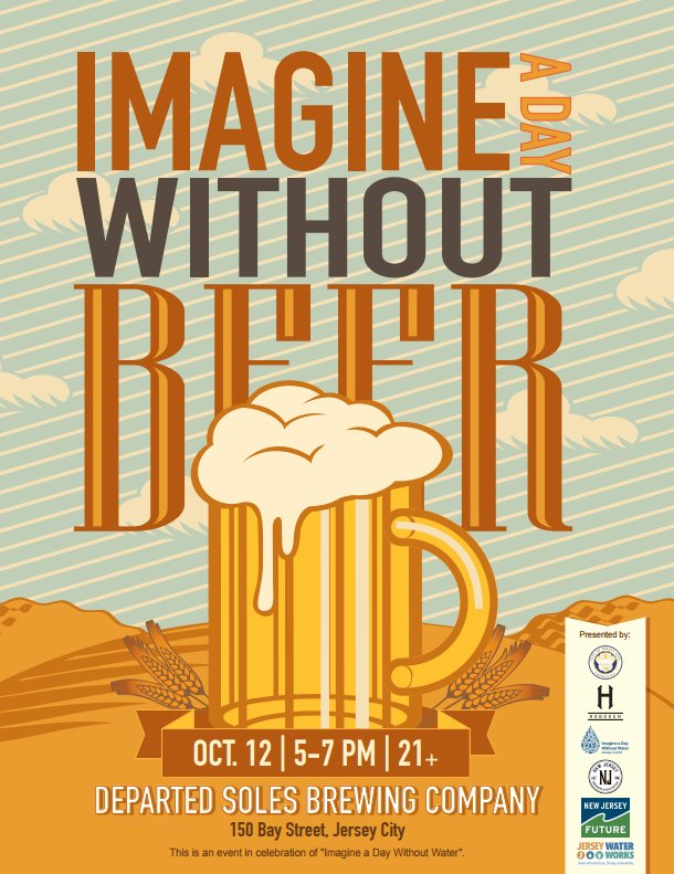 Today is Imagine a Day Without Beer! #NoWaterNoBeer #ValueWater @DepartedSoles  https://www. facebook.com/events/1295538 51031757 &nbsp; … <br>http://pic.twitter.com/4XX0X0CGc3