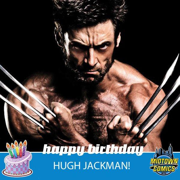 Happy Birthday Hugh Jackman    189cm
