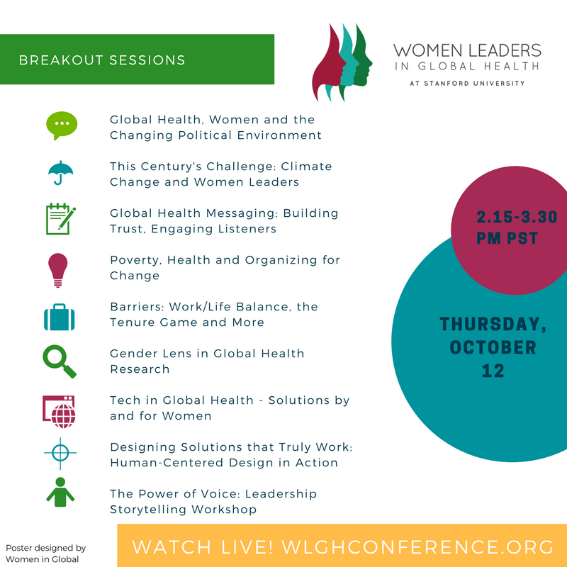 Celebrate talented #womeningh at the first-ever Women Leaders in Global Health Conference! #WLGH17 @StanfordCIGH @womeninGH<br>http://pic.twitter.com/5xYgbXGA09