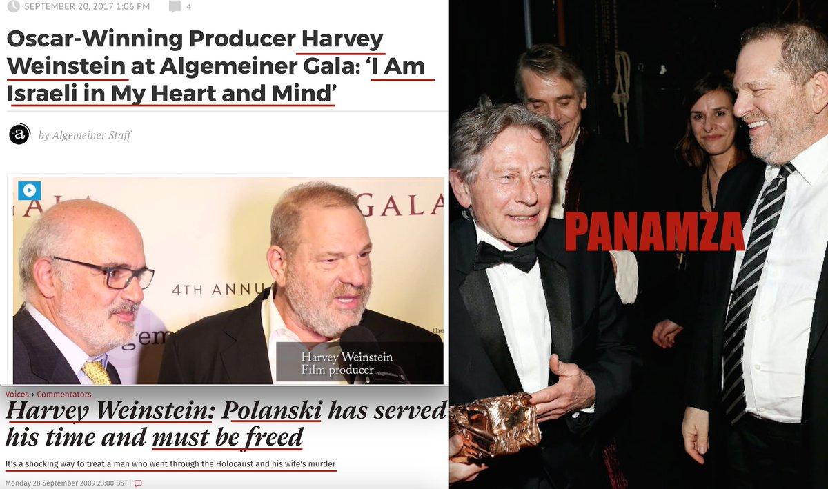 Quand le pro-israélien Harvey Weinstein défendait le violeur Roman Polanski