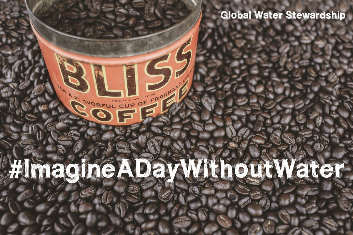Let&#39;s be very clear, without water you can&#39;t have your morning coffee. Imagine that!!! #ValueWater <br>http://pic.twitter.com/HcoroSYwEZ