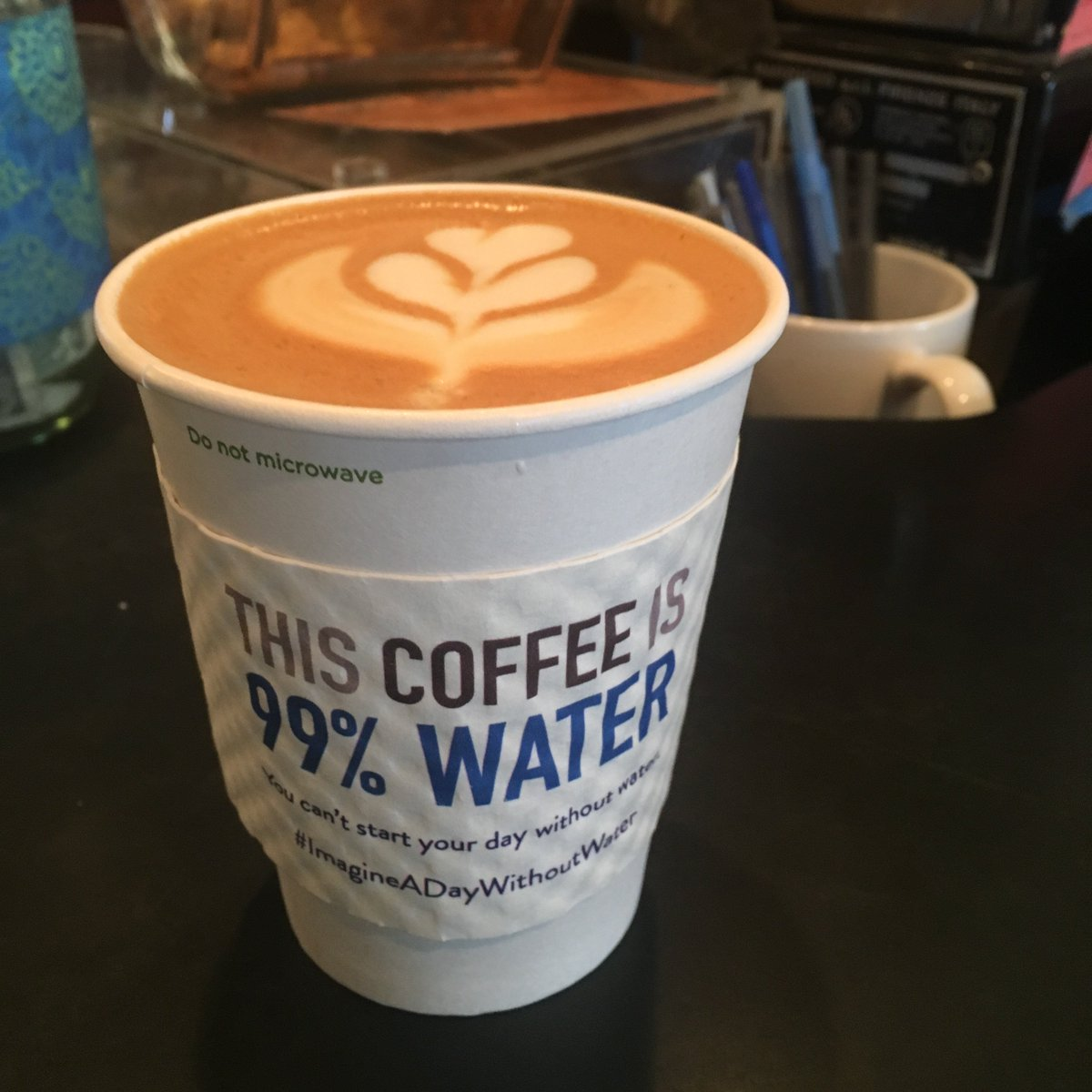 Thank you #KansasCity coffee shops for helping us #ImagineADayWithoutWater. You can&#39;t start your day without water! #ValueWater <br>http://pic.twitter.com/gyd507KPGm