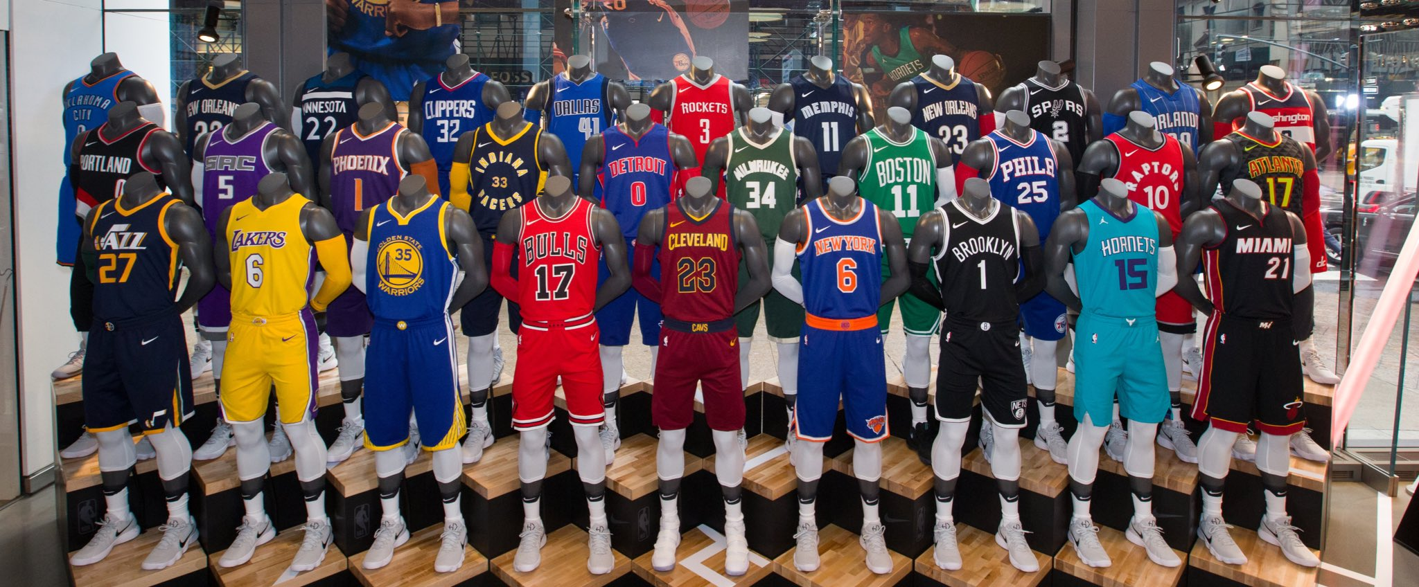 "Darren Rovell on Twitter: ""NBA Store in NYC now selling ..."