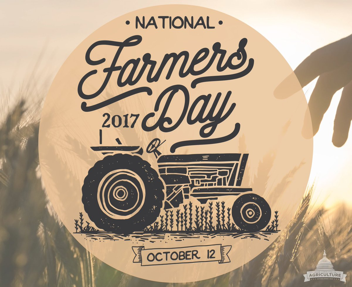 For those who work in acres, not hours, we thank you! Happy #NationalF...