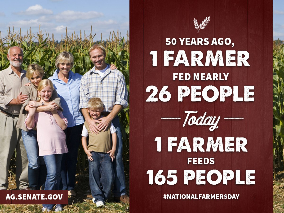 Happy #NationalFarmersDay! Today and everyday, we recognize and celebrate the American farmer who never stops improving. <br>http://pic.twitter.com/XHomZq4DGS