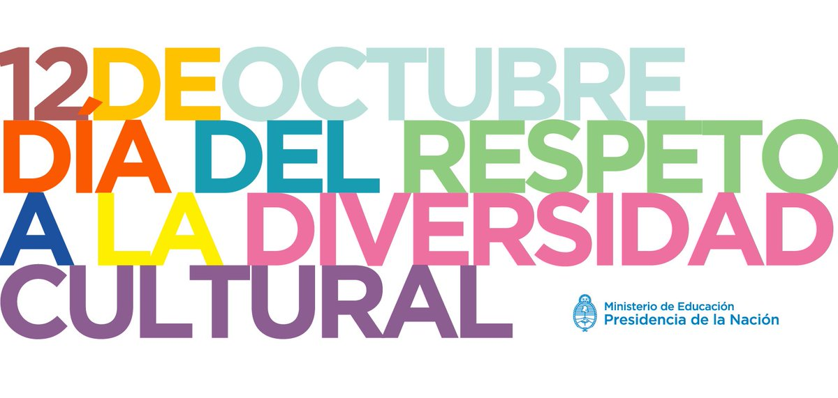 Día del Respeto a la #DiversidadCultural https://t.co/oyzra9QBxo
