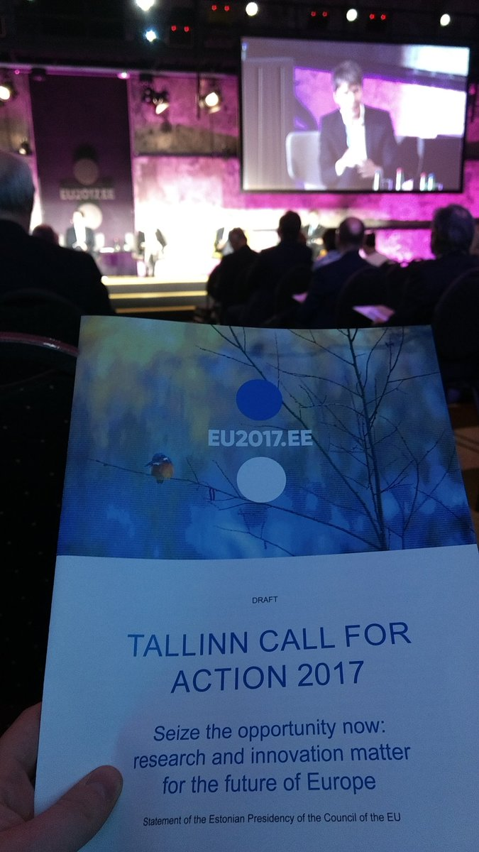 #TallinnCall4Action clearly shows we need to invest in R&amp;I if we want to stay competitive and keep our welfare. However, it is up to research community to show how we help all Europeans and not just the happy few #Research4FutureEU<br>http://pic.twitter.com/ItMblt4jdX