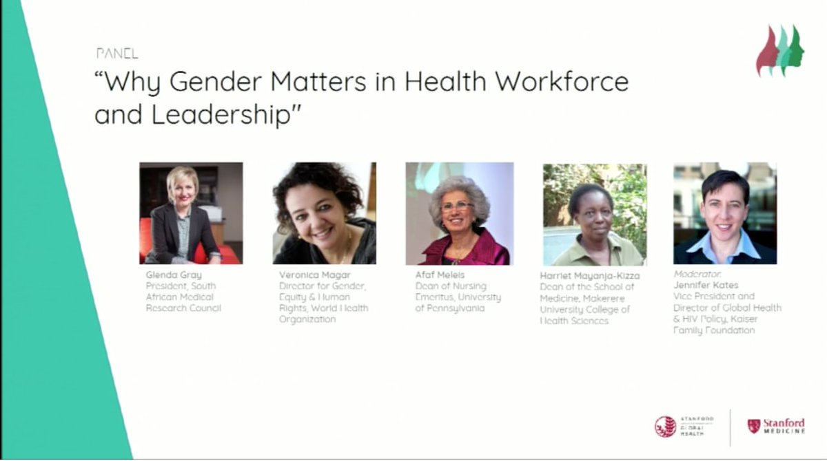 A stellar panel on gender &amp; health workforce: The @WHO #UHC framework is about leaving no-one behind #WLGH17 #Gender5050 #globalhealth<br>http://pic.twitter.com/FUvHj93tgB