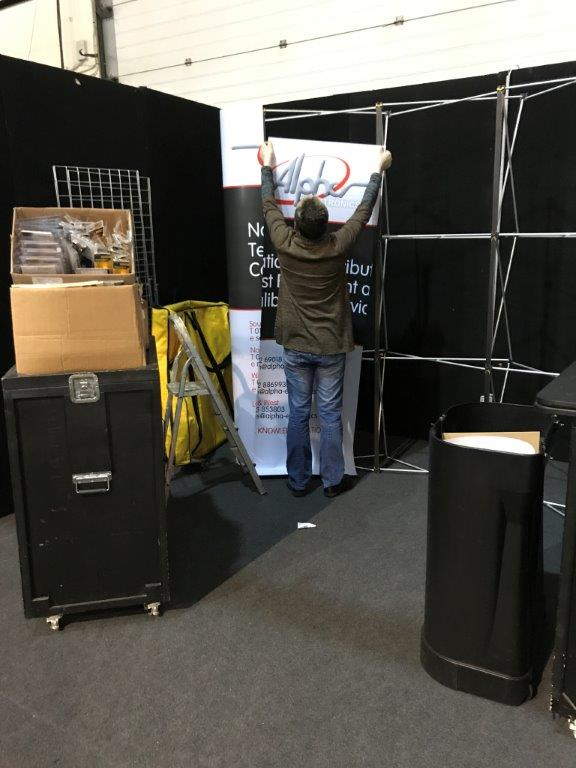 Only #three more weeks until the @Elexshow at #SandownPark! Preparations are underway... #Surrey #tradeshow #electrician<br>http://pic.twitter.com/Uj5tyia2PV