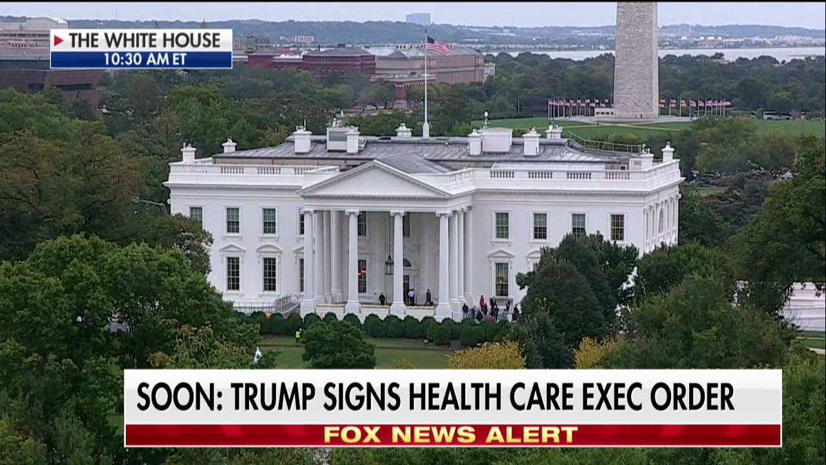 SOON: @POTUS signs health care executive...