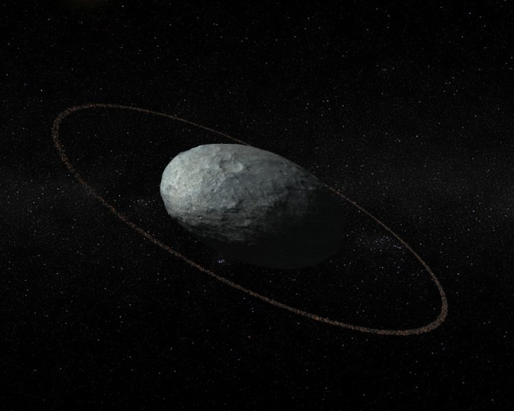 Haumea, the most peculiar of Pluto companions, has a ring around it https://t.co/moeyxYz3Hb https://t.co/pQt0ie5YK7