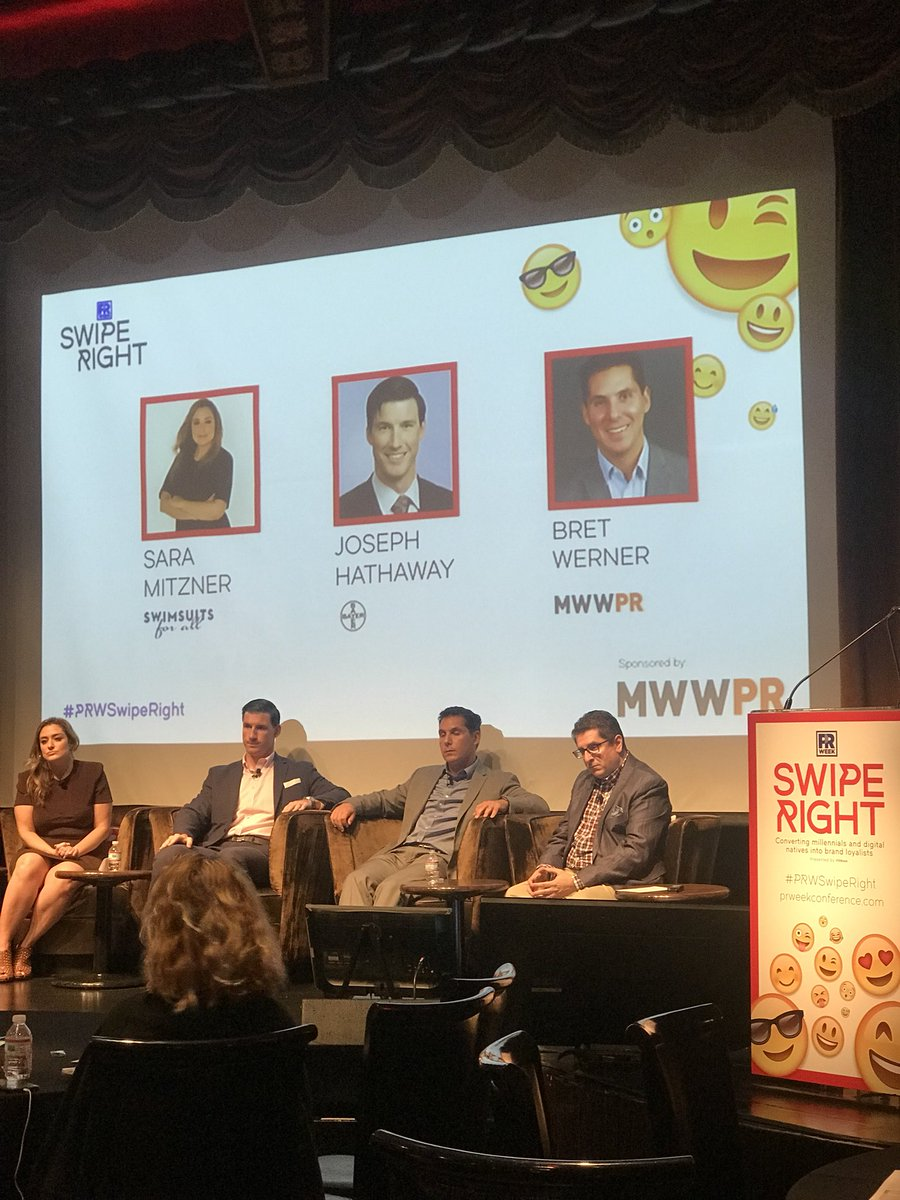 Because millennials care about more than just the product #Corpsumer #PRWSwipeRight @MWW_PR @lindsaykap @bayer<br>http://pic.twitter.com/LwWz1zDFZS