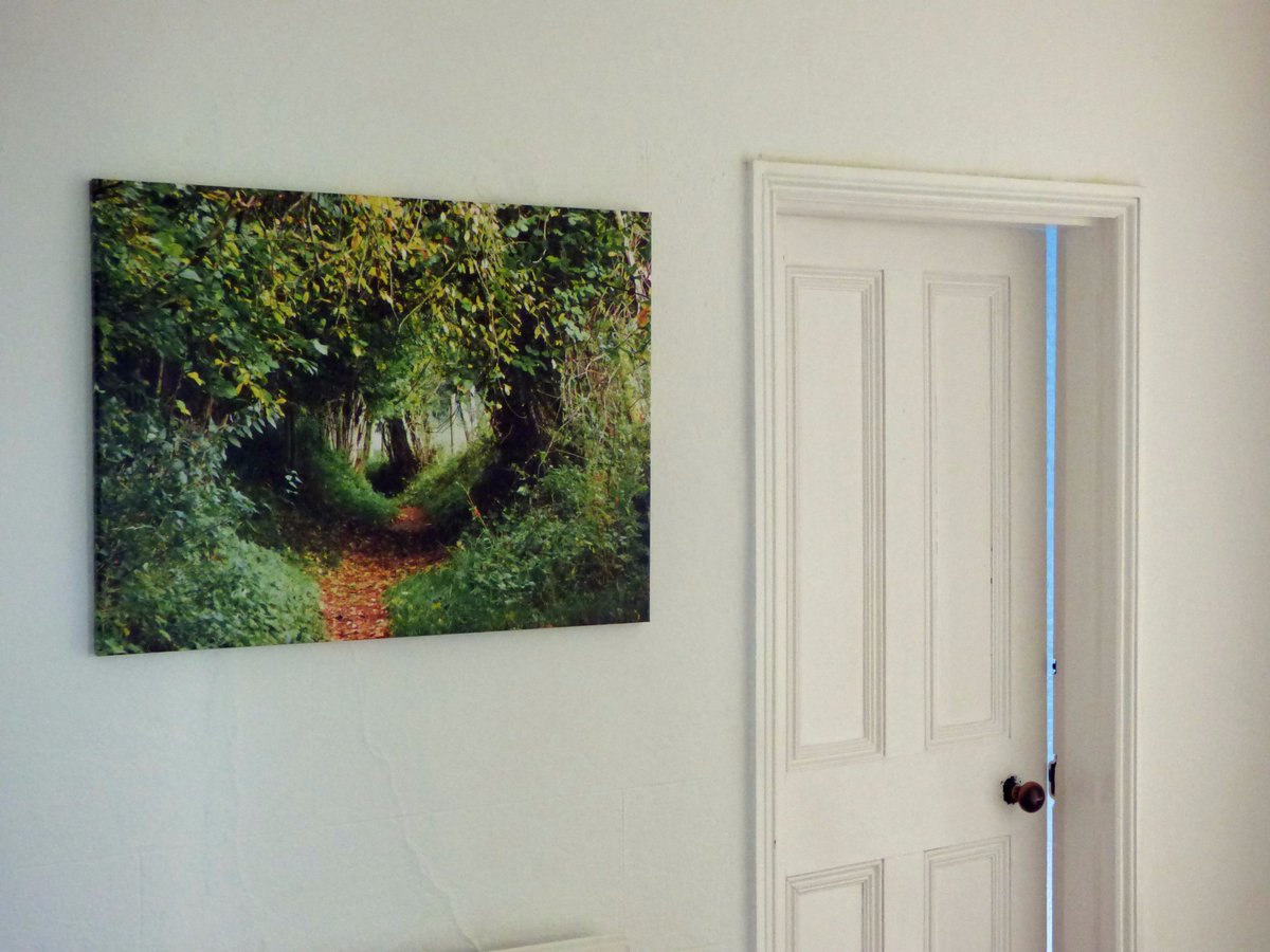 New canvas arrived, yay! 'Follow Your He...