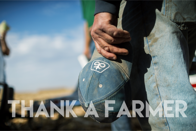 Today we thank all the hard working men and women who work in acres, n...