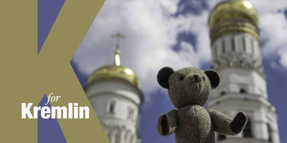 Our #TweedyTed likes to travel! Buy your own unique #HARRISTWEED companion here  http:// ow.ly/kL2030fyeRn  &nbsp;   *FREE UK DELIVERY* #Kremlin #Moscow <br>http://pic.twitter.com/oQmB32l61M