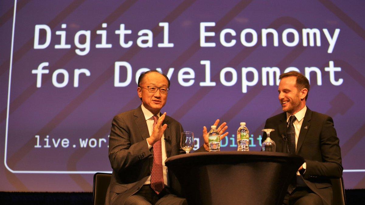 LIVE NOW: Digital Economy for Development with @JimYongKim &amp; @jgebbia  http:// wrld.bg/GTZO30fPAJF  &nbsp;    #digitaldev <br>http://pic.twitter.com/PGEO4n6wWq