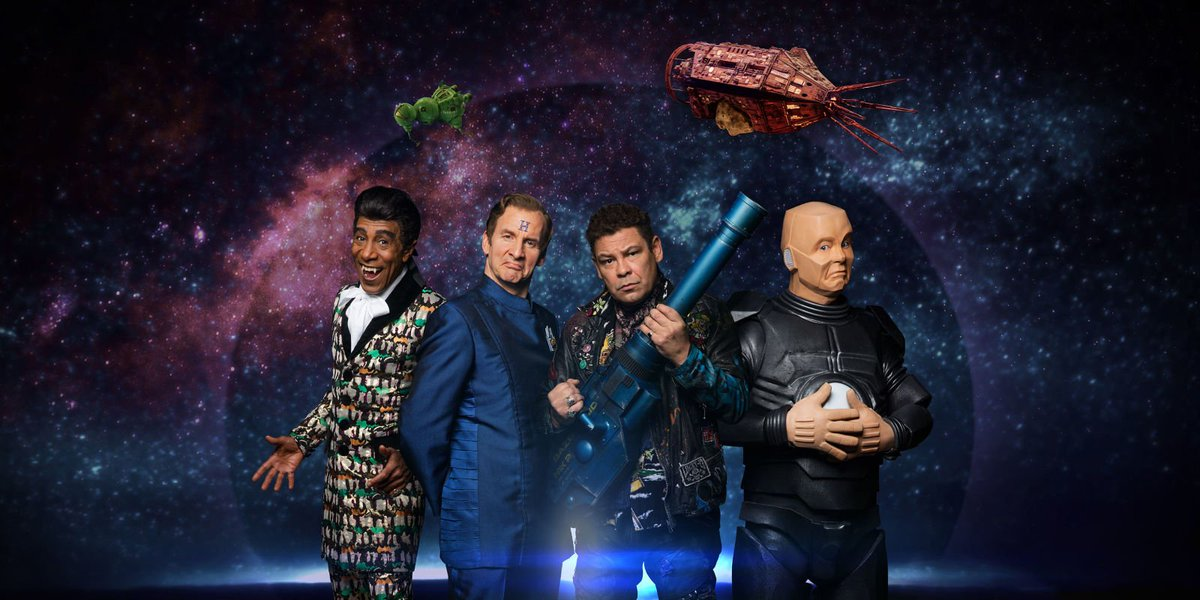 #RedDwarfXII starts tonight - and writer @DougRDNaylor is already work...