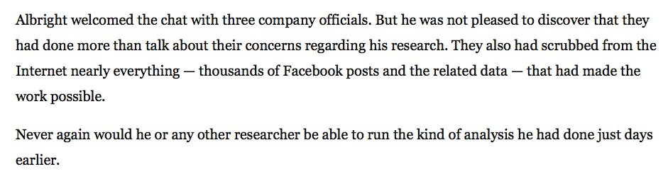 .@d1gi proved Russia's disinfo campaign on Facebook was wider than they admit.  Then Facebook removed the evidence.  https://t.co/hvxSLBnG1O