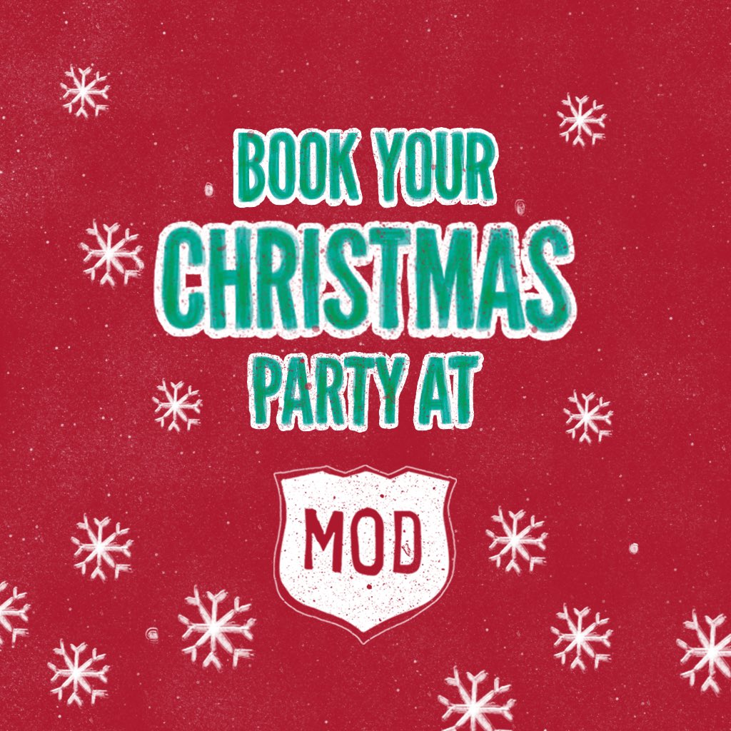 mod pizza uk on twitter 12 weeks till christmas better book that party mod pizza and a dessert pot only 10 plus bookings over 10 have a round of