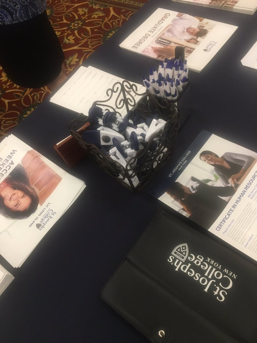Come check us out at the Choice Career Fair at the Melville Marriot! We&#39;re here til 2  #graduate #professional #undergrad @SJCNY<br>http://pic.twitter.com/tM1YELiDqK