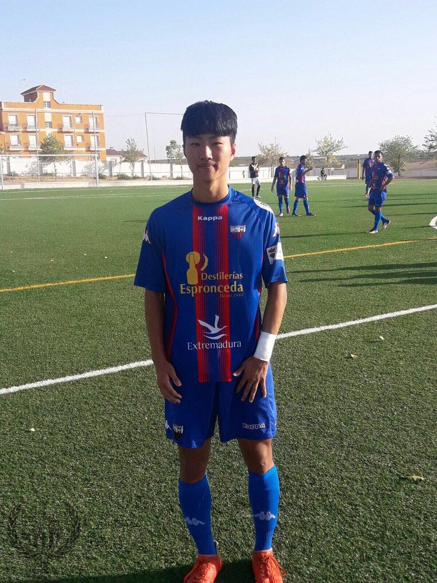 "Extremadura UD on Twitter: ""Hoy debuta con el @EXT_UDB Hwang del Juvenil A  de @cantera_extud ¡Enhorabuena!… """