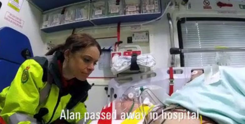 RIP Alan and Carole – a sad note on which to end. #Ambulance https://t...