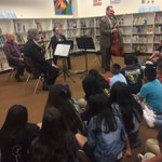 Loved having Musicians On Campus from #philharmonicsocietyoc Thx for such an amazing experience for our 5th grade Ss