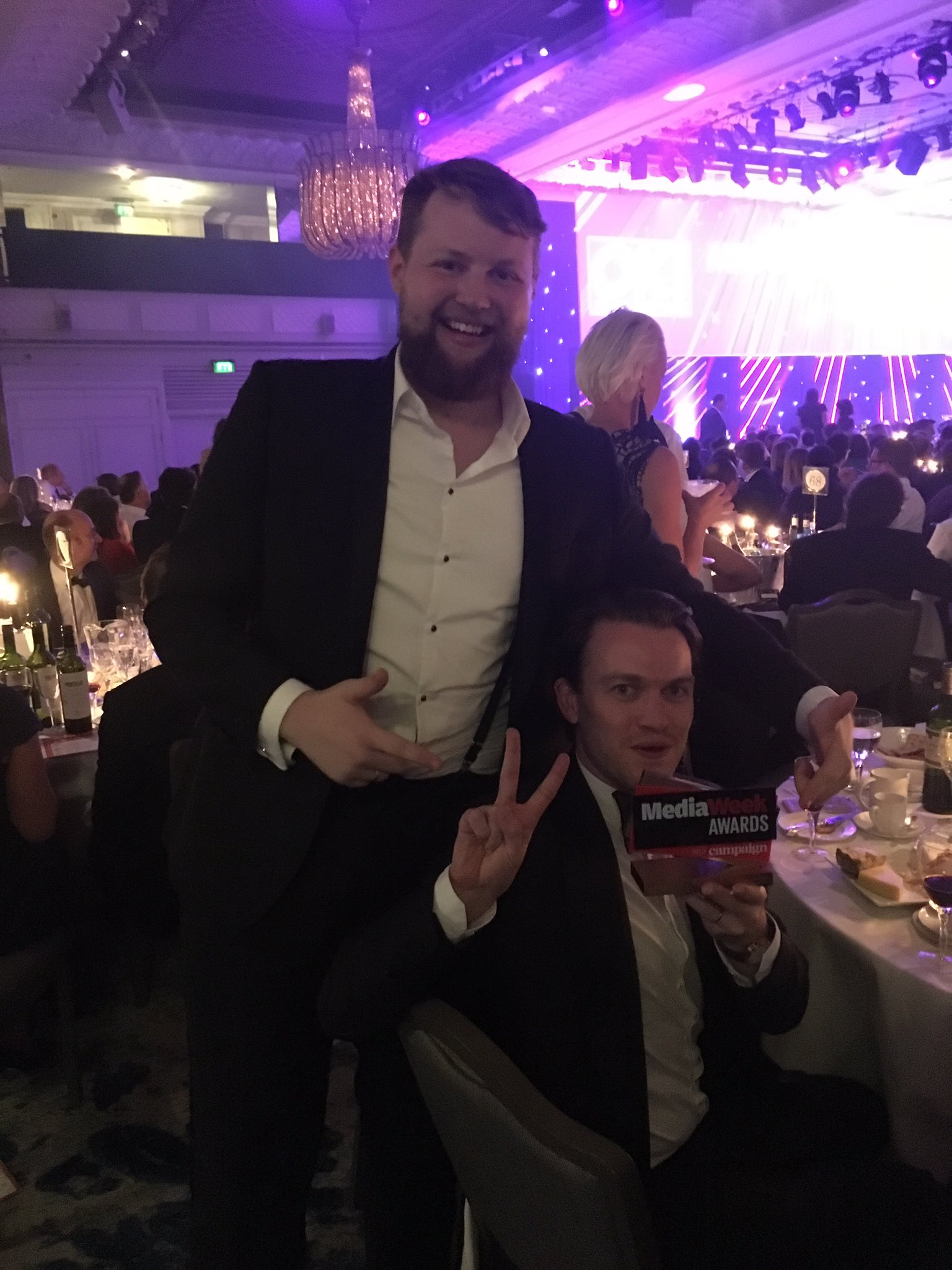 ... and it's a fabulous Bronze for @mytaxi #MediaWeekAwards Agency: media idea (£250k-£1m) 🙌 https://t.co/qv8Gy1gQeI