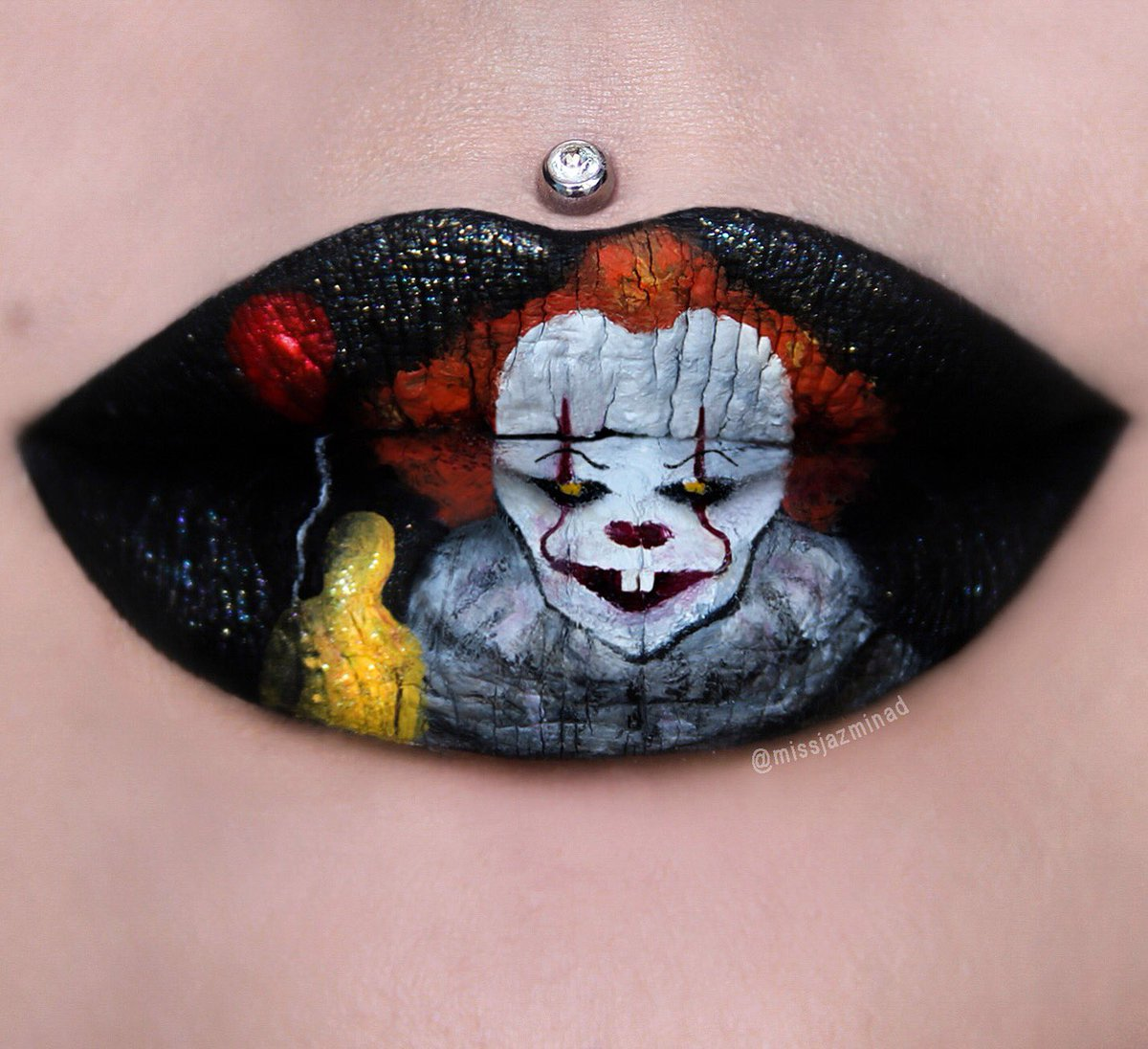 These Halloween Lip Art Ideas Require Patience