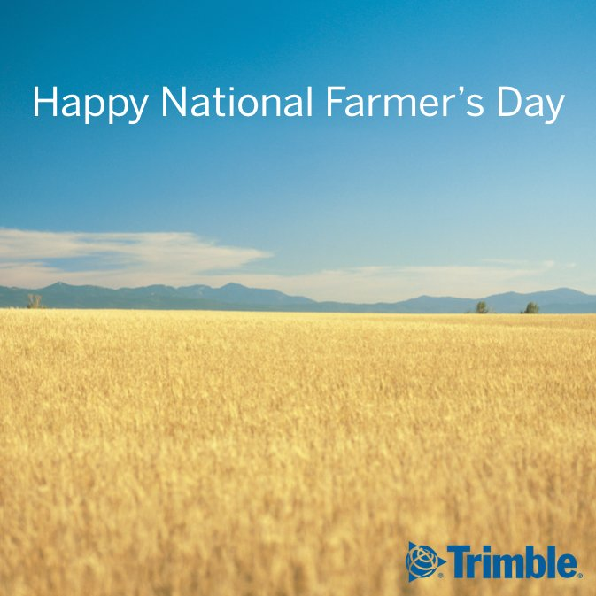 From all of us at #TrimbleAg, happy #Nat...