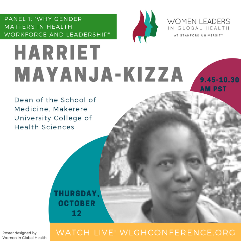 &quot;Most of healthcare in Uganda is provided by women, but women face more challenges and need more support,&quot; says Prof Mayanja-Kizza.  #WLGH17 <br>http://pic.twitter.com/A1okvmOdJO