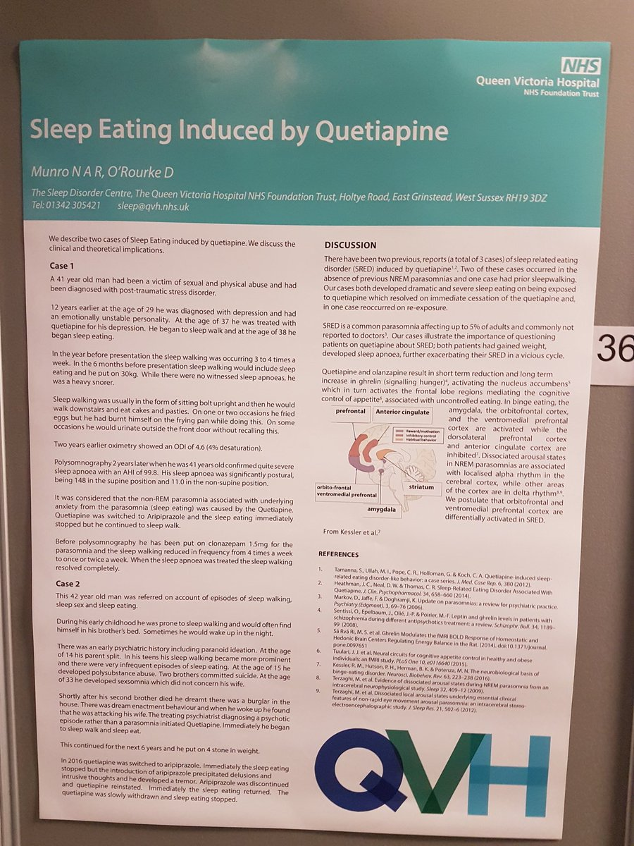 Abd Tahrani On Twitter Cases Of Queiapine Causing Sleep Eating