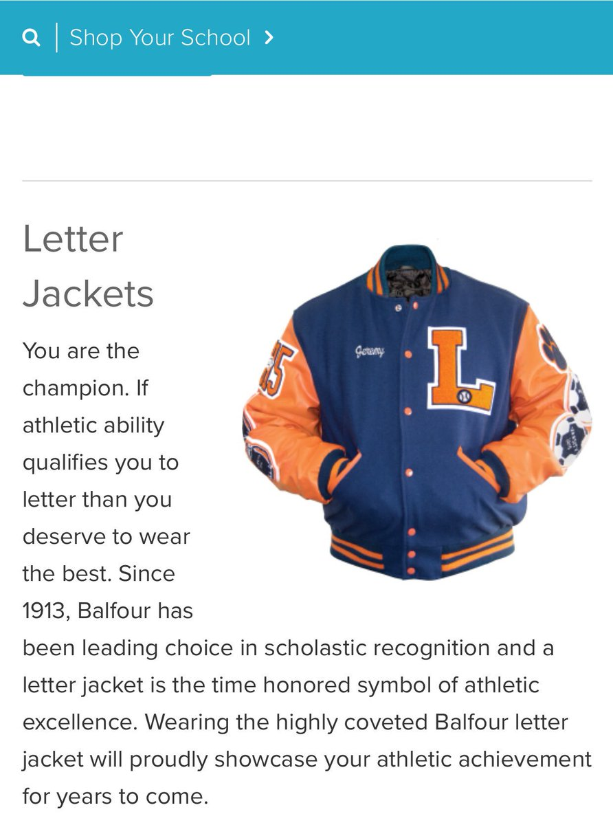 balfourmstn on twitter get your letter jacket ordered today contact our office at 662 286 0235 to order