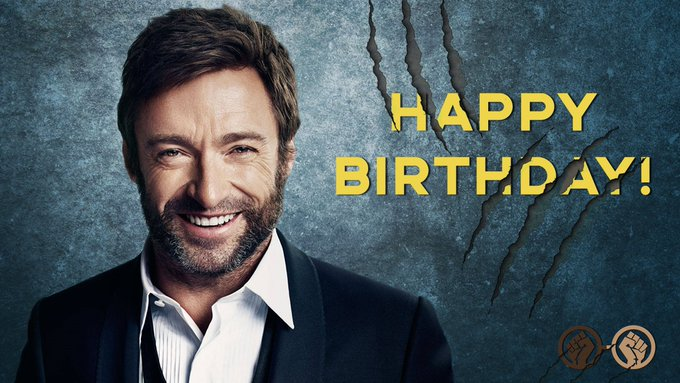 Happy Birthday to the GOAT, Hugh Jackman! The Wolverine turns 49 today. It\s Lit!