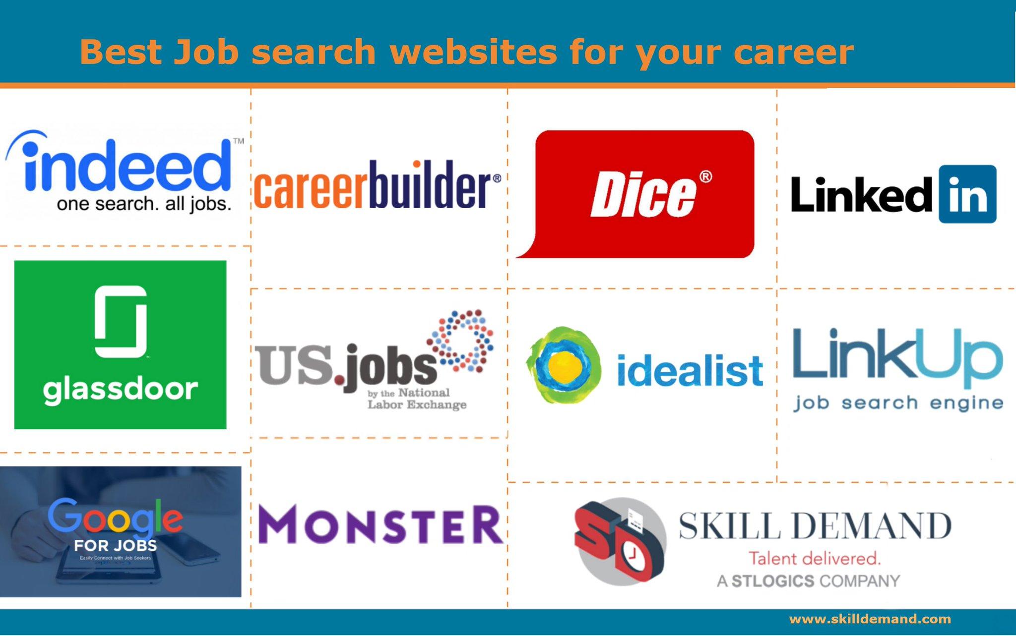 top job searching websites