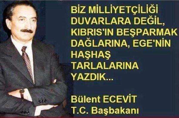Bülent Ecevit #kanaatimegöre https://t.c...